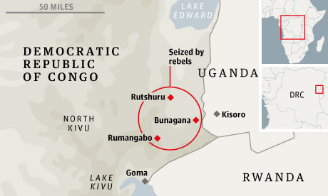 ENFIN, LES FARDC AIDEES PAR LA MONUSCO ONT PRIS LE CONTROLE DE BUNAGANA
