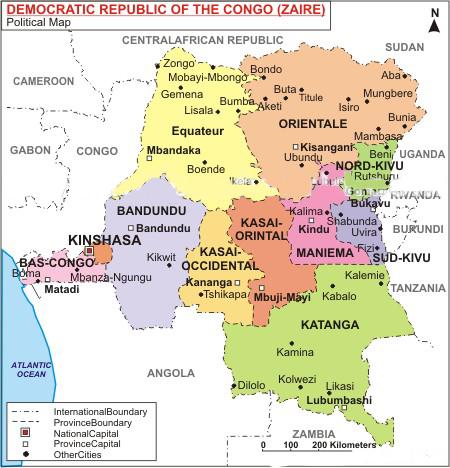 KASAI ORIENTALE: EXPLOSION D'UN DEPOT DES MUNITIONS, PLUSIEURS MORTS.