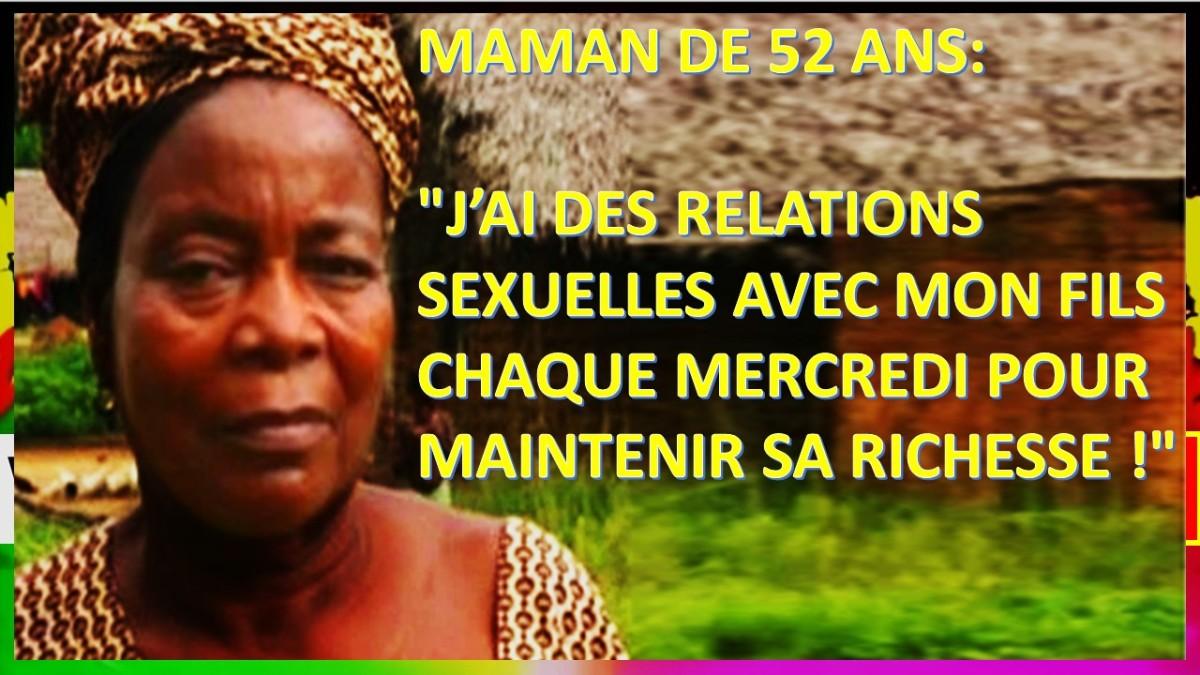 """MAMAN DE 52 ANS: """"J'AI DES RELATIONS SEXUELLES AVEC MON FILS CHAQUE MERCREDI POUR MAINTENIR SA RICHESSE !"""""""