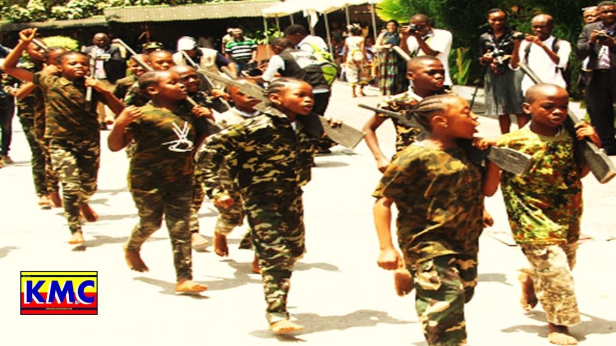 RDC : DES MILLIERS D'ENFANTS RECRUTES ET UTILISES CHAQUE ANNEE PAR DES GROUPES ARMES