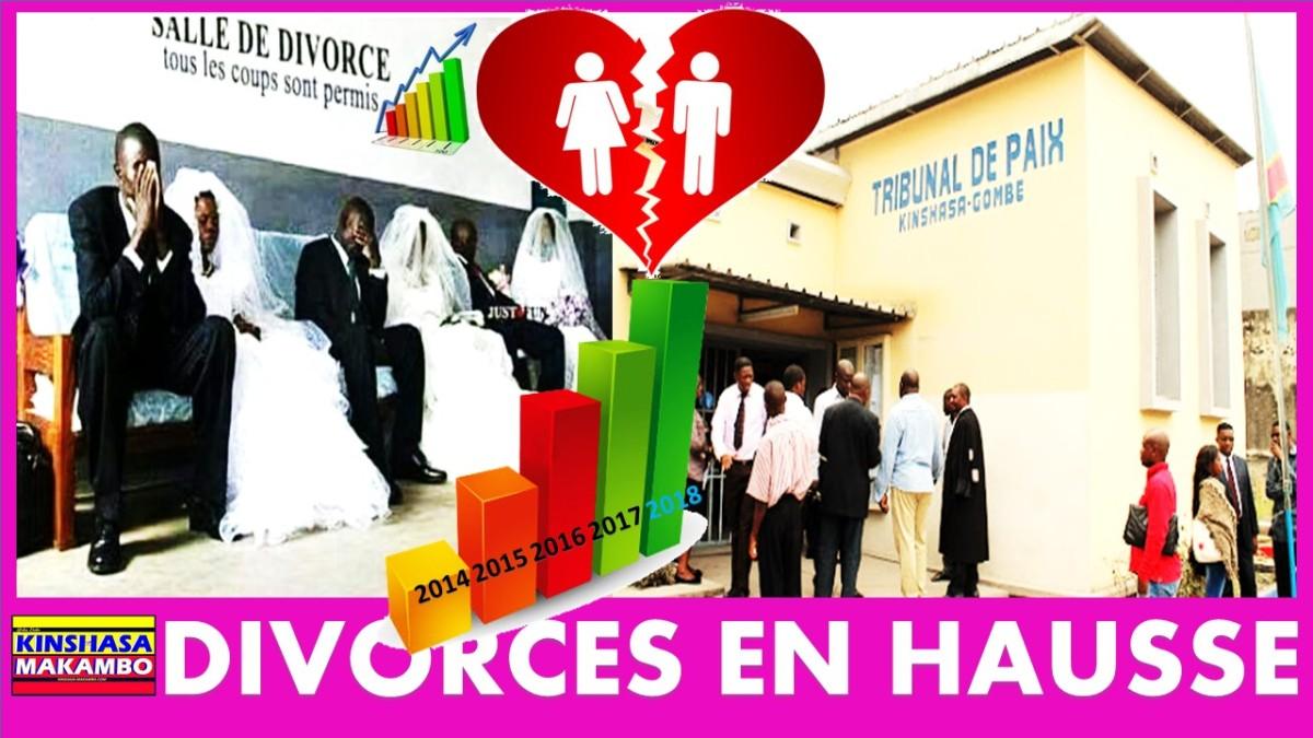 LES DEMANDES DE DIVORCE SONT EN HAUSSE AU TRIBUNAL DE PAIX D'ASSOSSA / KINSHASA
