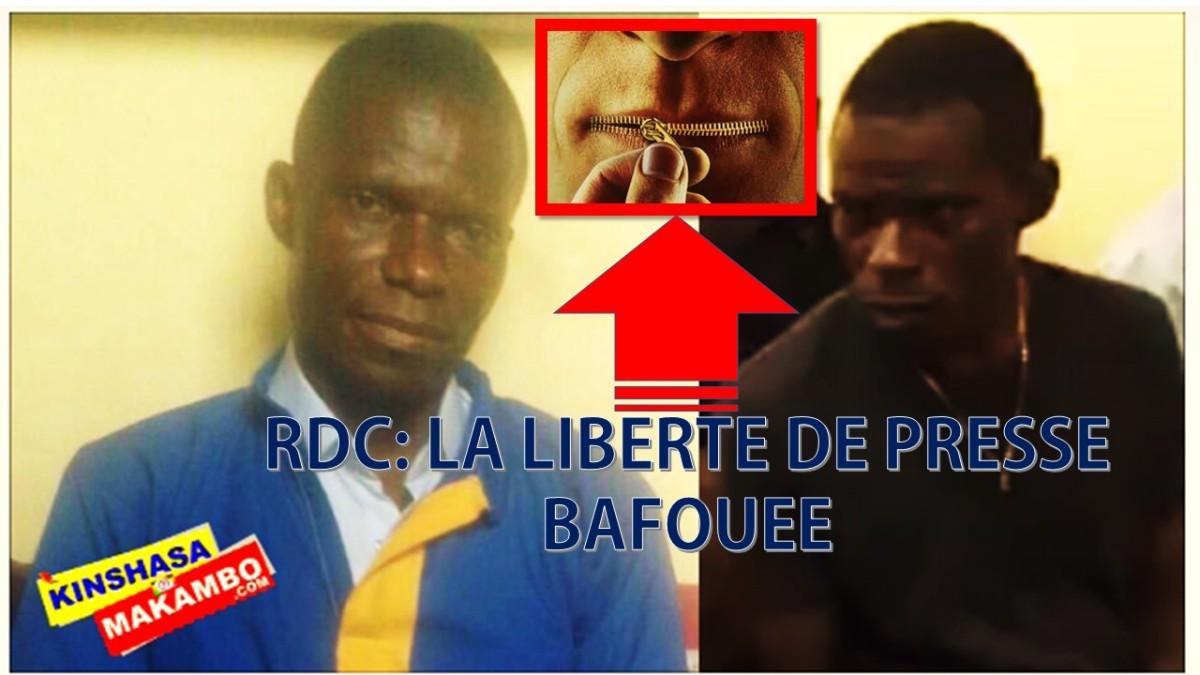 RDC: LA LIBERTE DE PRESSE BAFOUEE, CAS D'ELIEZER TAMBWE VS NGOYI KASANJI