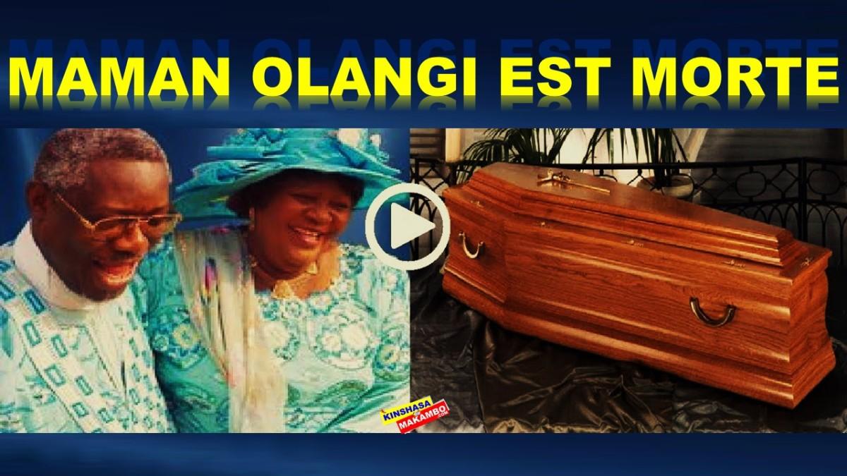 CIFMC: L'EVANGELISTE ELISABETH OLANGI WOSHO EST DECEDEE