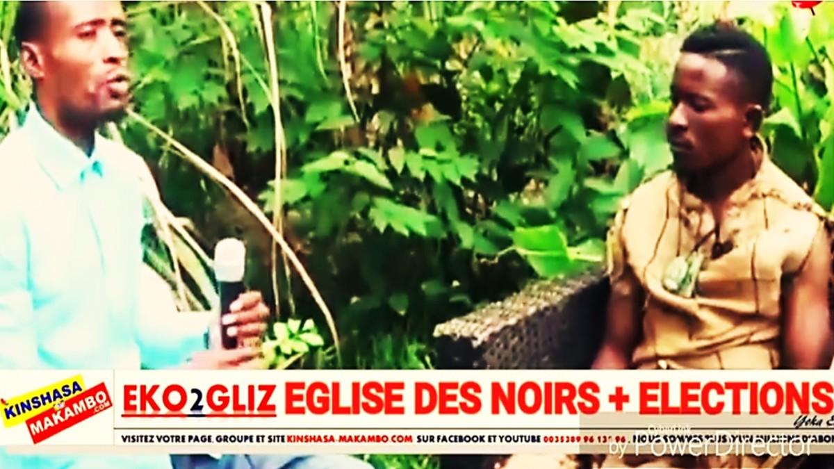 EGLISE DES NOIRS BAKOTI MAKAMBO YA B'ELECTIONS, EYINDI.